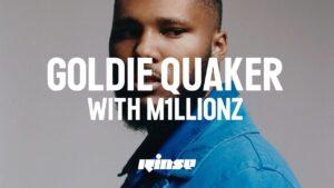 Goldie Quaker with M1llionz (Interview)