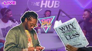 "😅 ""Women deserve less"" #SlanderWomenMonth 90's Baby Show LIVE #8 | The Hub"