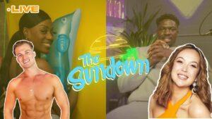 Aaron looked crazy 😩Love Island Reaction   The Sundown W/ Very Vee Brown x Fred Santana #4   The Hub