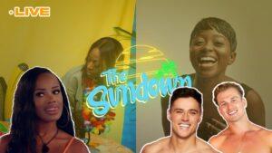 Kaz + Toby = 💔 But Rachel 🔥 Love Island Reaction   The Sundown W/ Vee Brown x Hemah K #6   The Hub