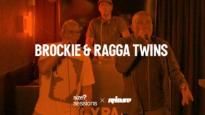 size? sessions: Brockie & Ragga Twins