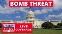 Bomb threat near the Library of Congress as man demands to speak to President Biden.