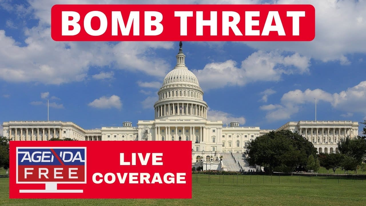 Bomb Threat near Library of Congress & US Capitol – LIVE BREAKING NEWS COVERAGE