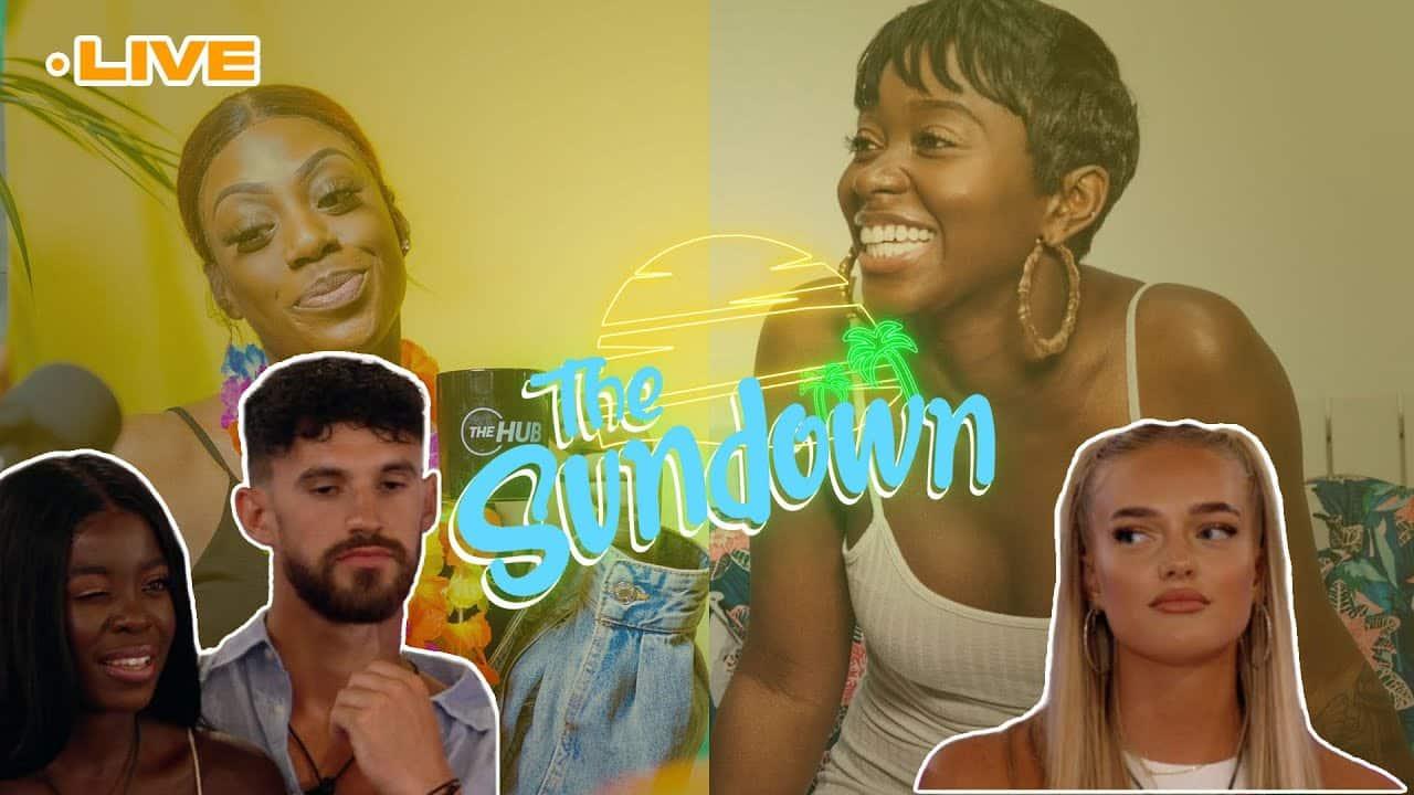 Love Island Recap: Tyler set Kaz up 😩 #TheSundown W/ Vee Brown x Hemah K #30 | The Hub