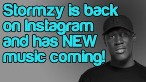 Stormzy is back on Instagram and has NEW music coming!