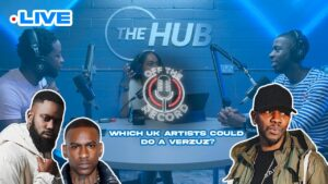 🤔 What UK artists could do a VERZUZ? #OffTheRecord W/ Maláika x Flashy Sillah x Kamzo #11 | The Hub
