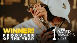 Producer of the Year Winner | Rated Awards 2021